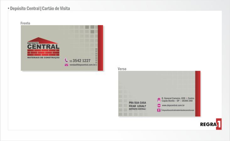 Depósito Central _ Cartão de Visita