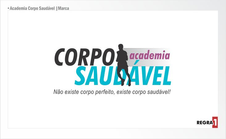 Academia Corpo Saudável_Marca